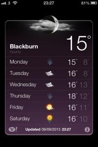 6 weather