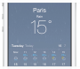 How to work the Weather App in iOS7